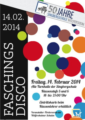 Poster Disco4